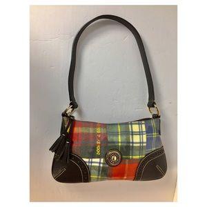 Dooney & Bourke Plaid Ladybug Shoulder Bag